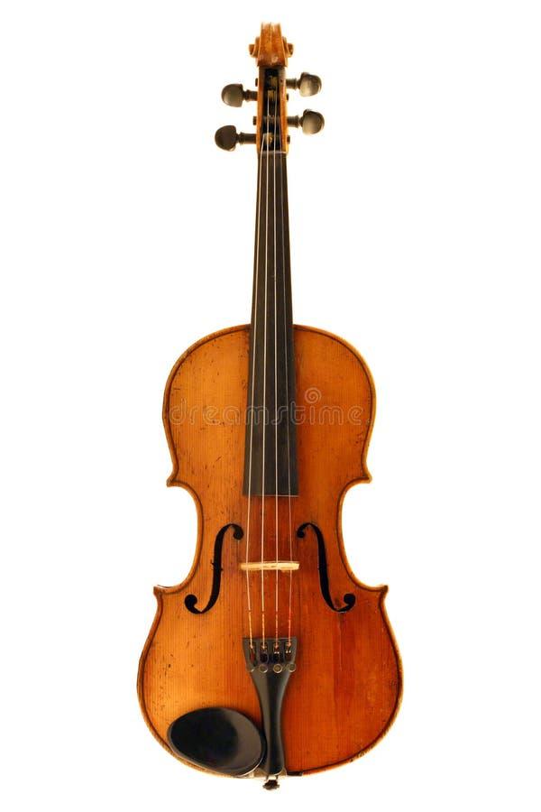 Antieke geïsoleerder viool stock foto