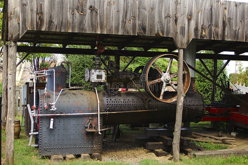 Antieke Generator Stock Fotografie