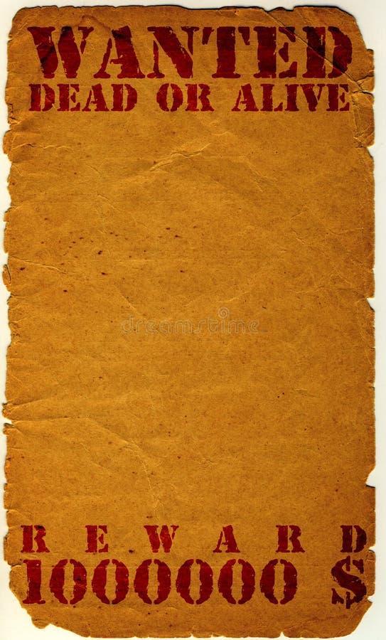 Antieke gewilde pagina - vector illustratie