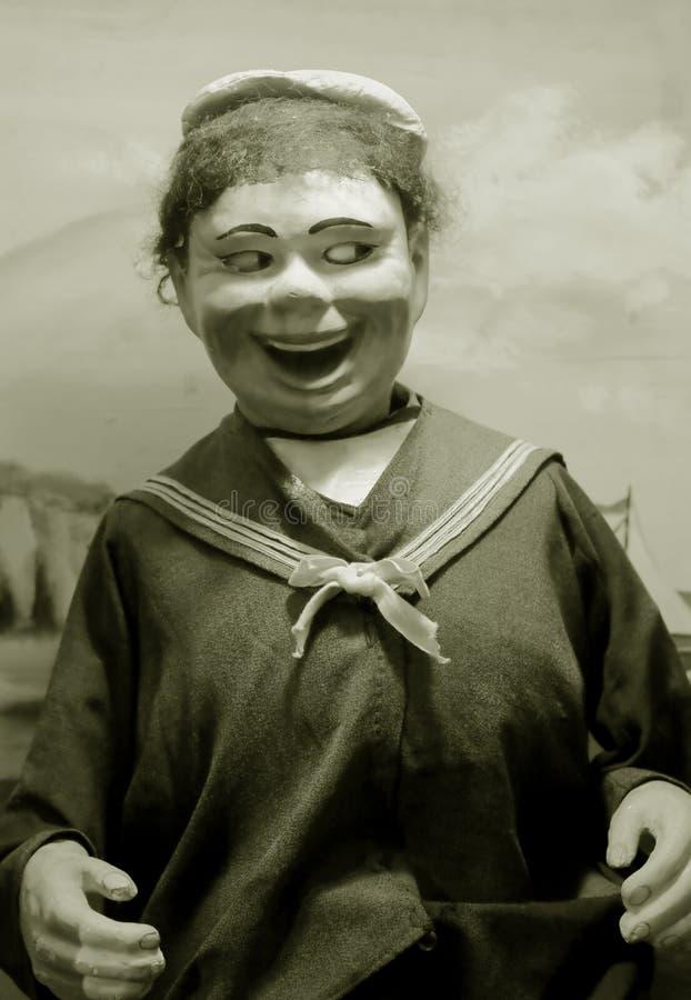 Antieke marionet stock fotografie