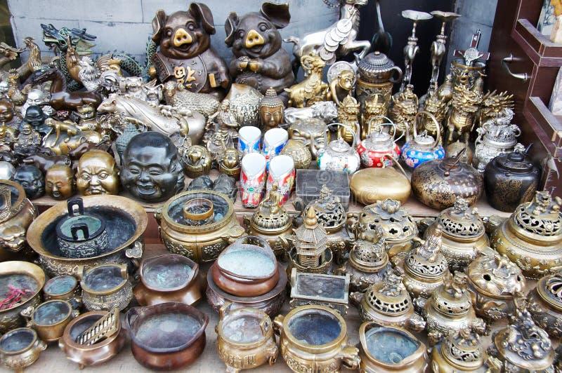 Antieke markt stock foto