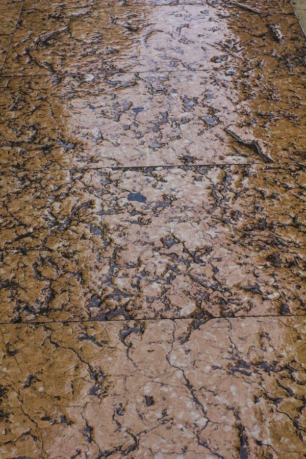Antieke Marmeren Bevloering stock afbeeldingen