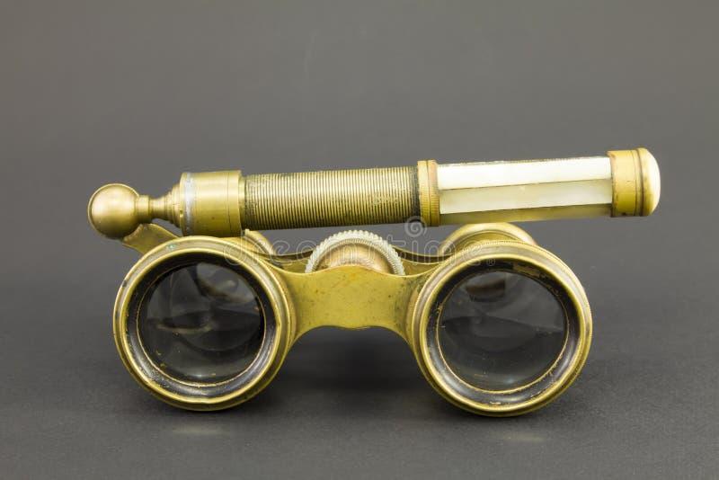 Antieke operaglazen stock afbeelding