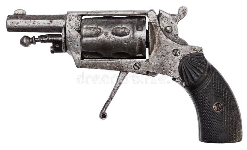 Antieke revolver stock afbeelding