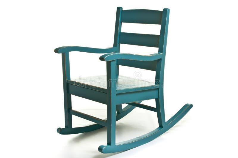 Antieke schommelstoel royalty-vrije stock foto