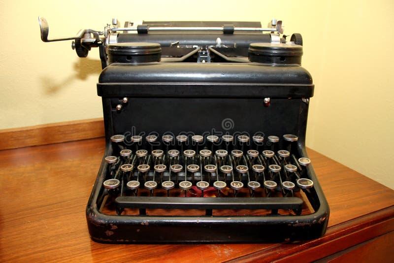 Antieke Schrijfmachine stock afbeelding