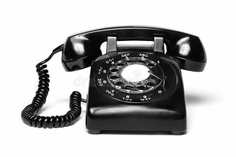 Antieke telefoon royalty-vrije stock afbeelding