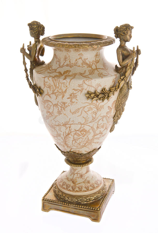 Antieke vaas royalty-vrije stock afbeelding