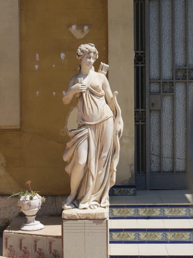 Antieke vrouw royalty-vrije stock fotografie