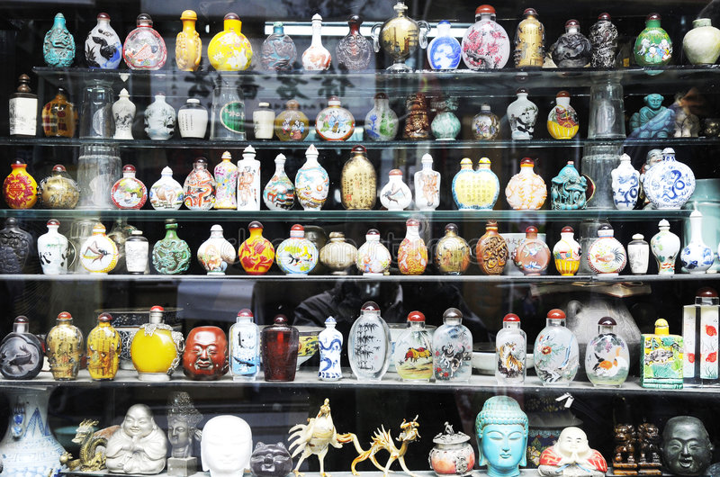 Antieke winkel stock foto