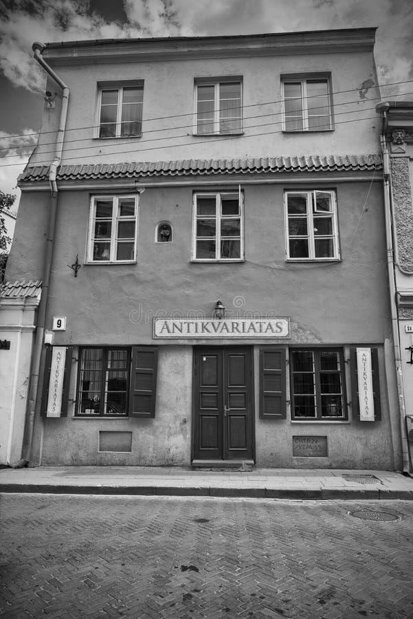 Antieke winkel royalty-vrije stock afbeeldingen