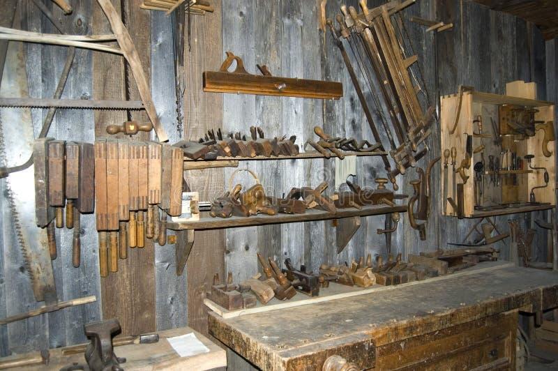 Antieke Workshop stock foto