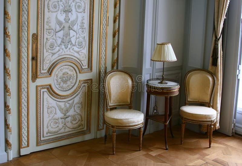 Antieke zetels royalty-vrije stock fotografie