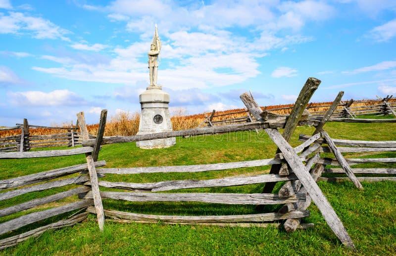 Antietam obywatela pole bitwy fotografia stock