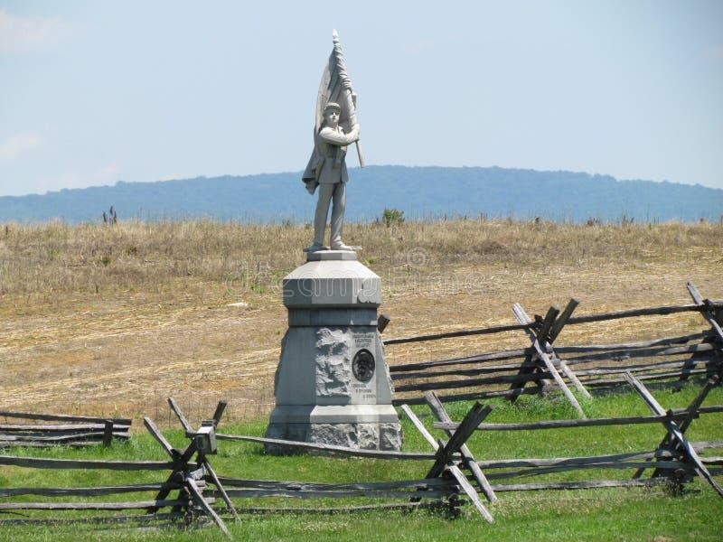 Antietam pola bitwy Cywilnej wojny zabytek obrazy royalty free