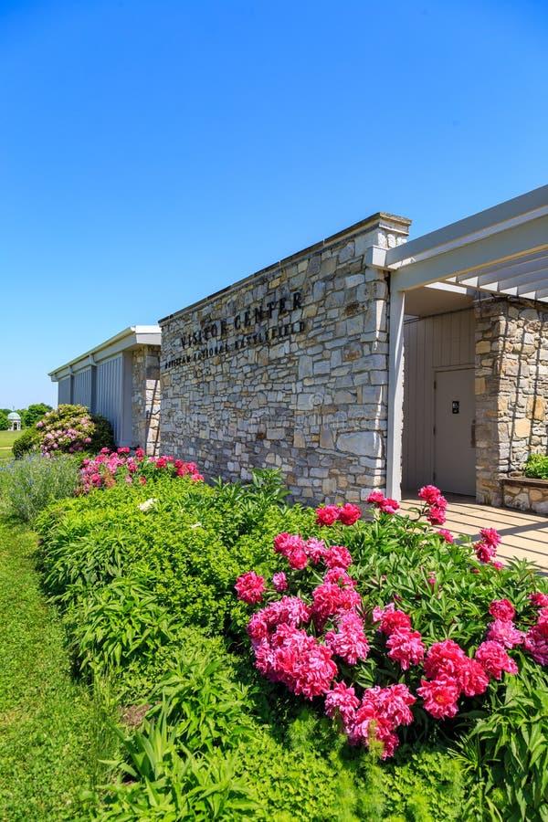 Antietam pola bitwy gościa Krajowy centrum fotografia royalty free