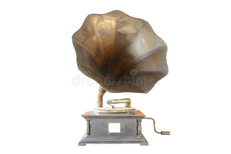 Antigüedad del fonógrafo fotos de archivo libres de regalías