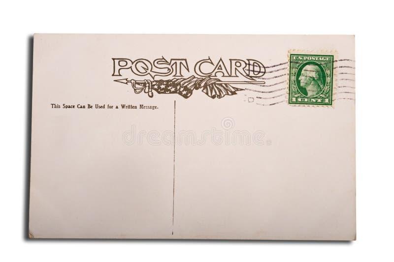 Antigüedad, postal de la vendimia imágenes de archivo libres de regalías