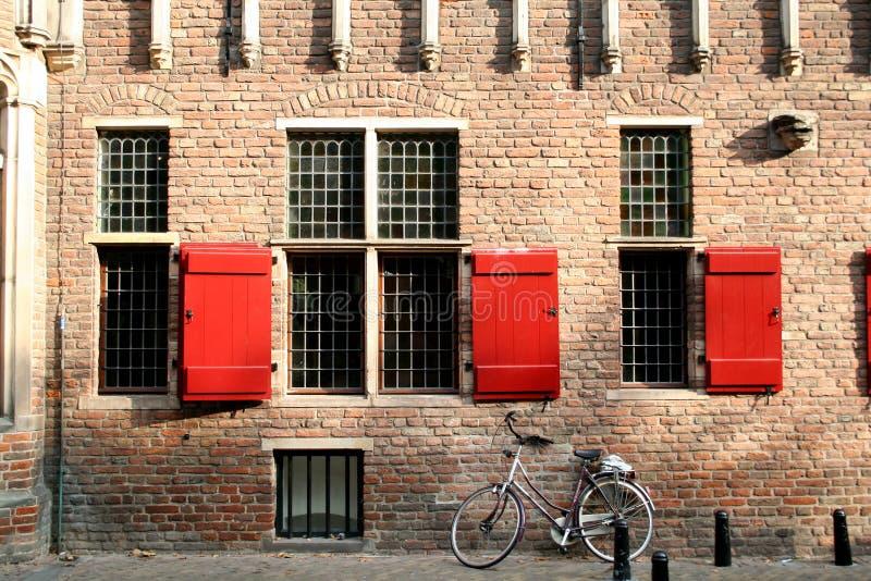A antiga pesar-casa é agora um museu fotografia de stock