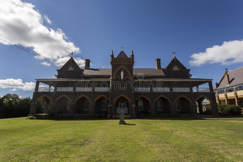 Antigo convento de Glen Innes imagens de stock