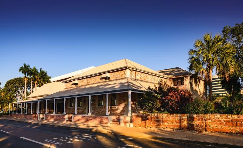 Antigo edifício australiano do Outback imagens de stock