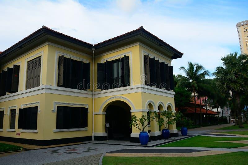 Antigo palácio da sultão de Johor, Singapura fotografia de stock royalty free