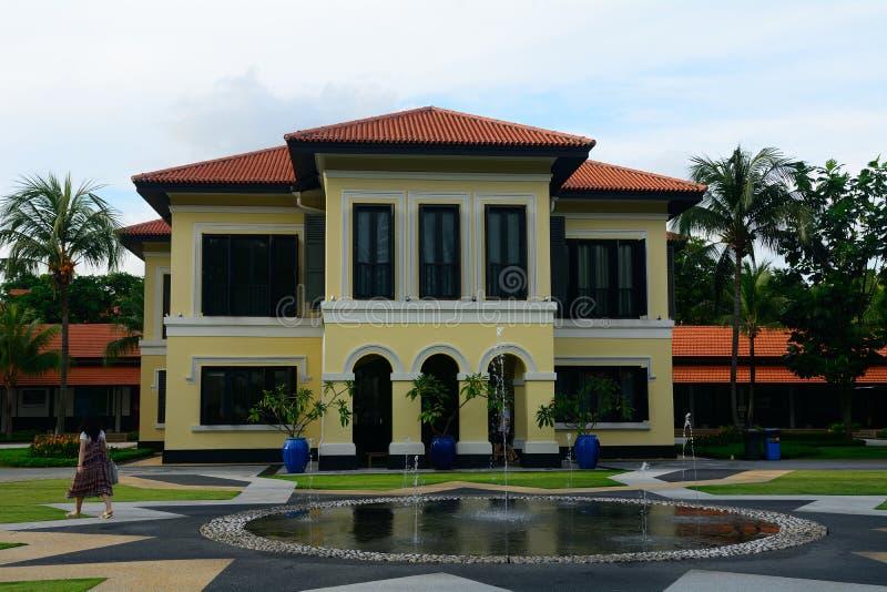 Antigo palácio da sultão de Johor, Singapura imagens de stock royalty free