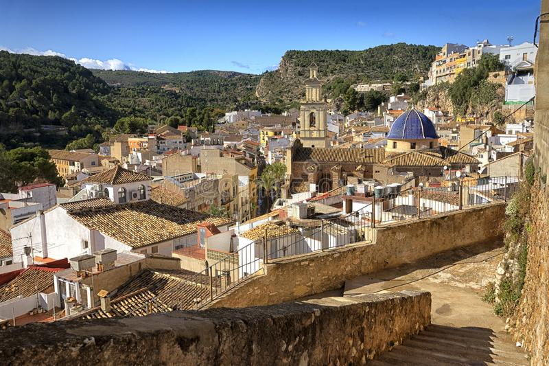 Antigua aldea medieval española fotos de archivo libres de regalías