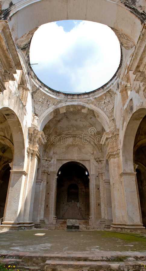 Download Antigua Cathedral Ruins Royalty Free Stock Photo - Image: 7670275