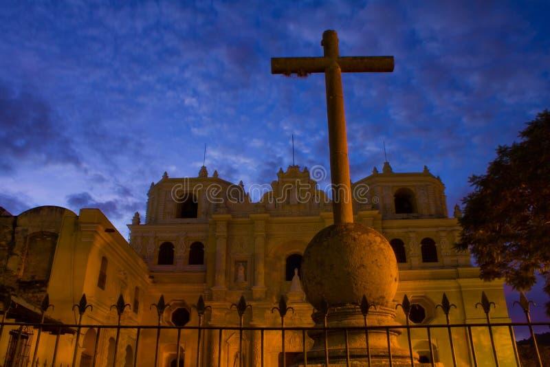 Download Antigua Church stock photo. Image of antigua, guatemala - 20953326