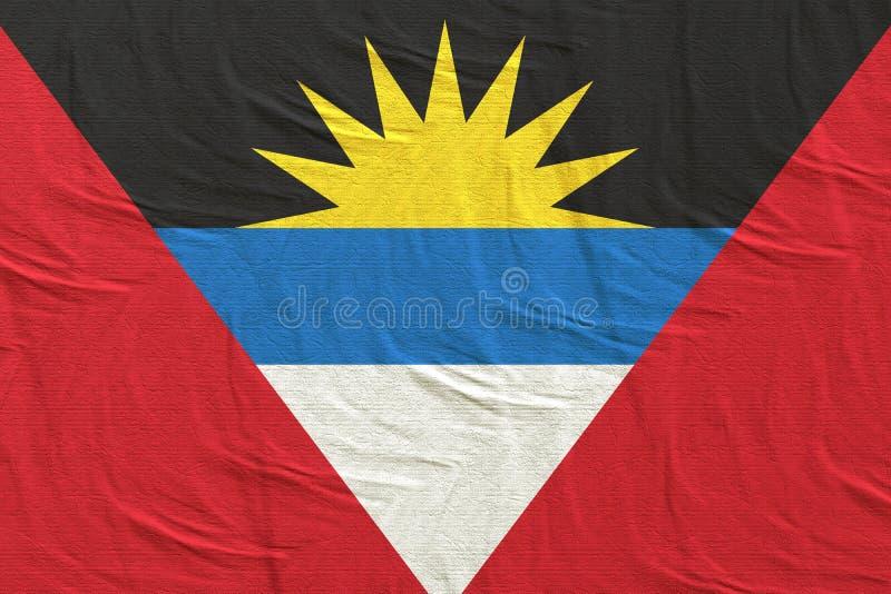 Antigua en van Barbuda Vlag het Golven royalty-vrije stock foto