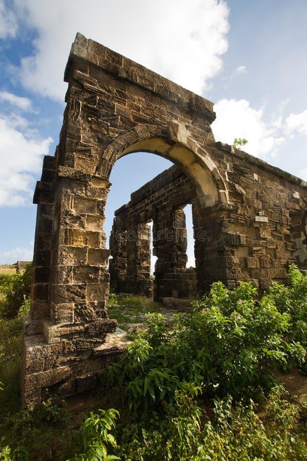 Antigua-Erforschungen lizenzfreie stockfotos