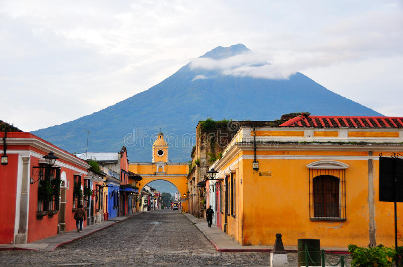 Antigua Guatemala royalty free stock images