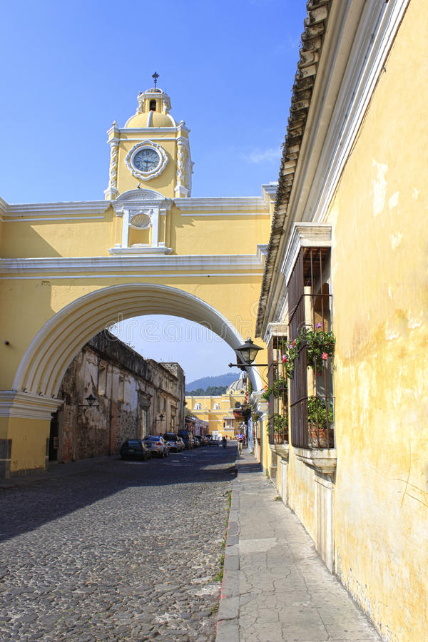 Antigua Guatemala. Colonial Centroamerica royalty free stock photography