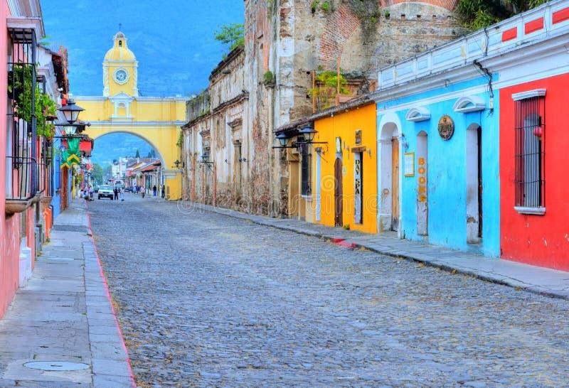 Antigua Guatemala royalty-vrije stock foto's