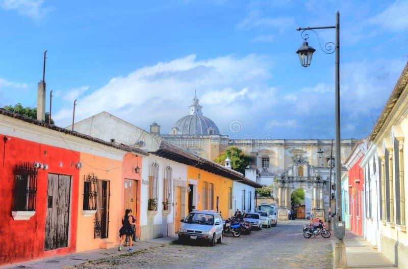 Antigua Guatemala stock foto's