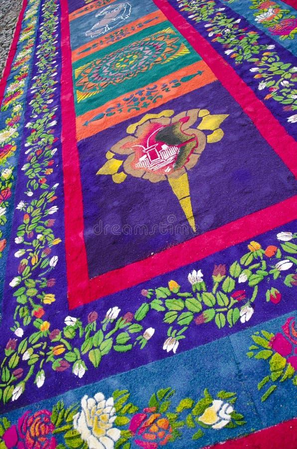 Antigua, Guatemala - Goede Vrijdag royalty-vrije stock fotografie