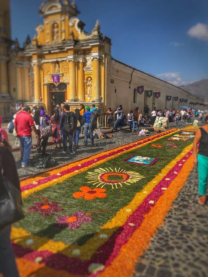 Antigua Gwatemala, Gwatemala fotografia royalty free