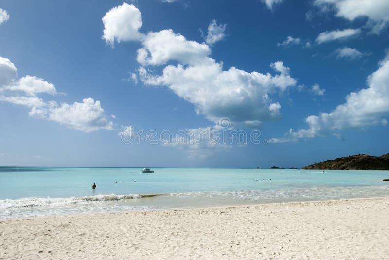 Antigua-Insel-Str?nde lizenzfreies stockbild