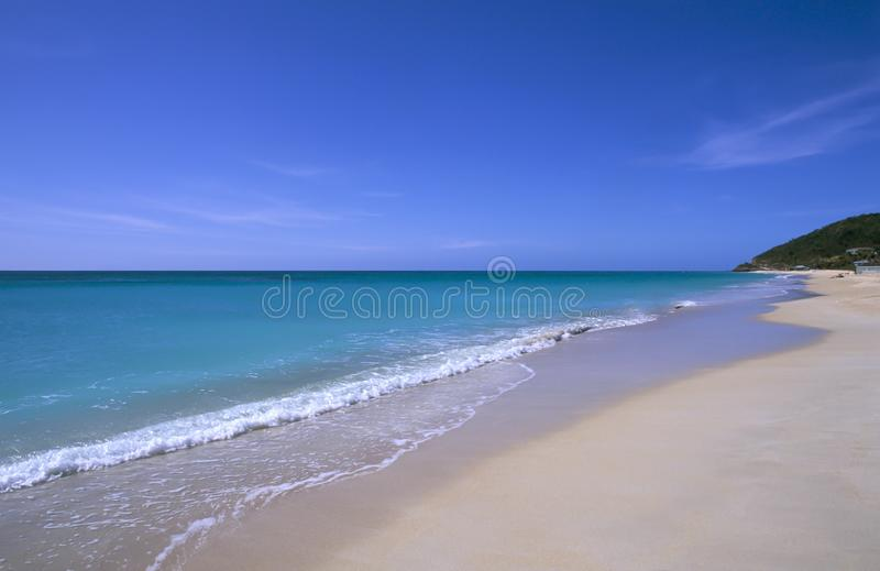 Antigua, Karaiby obrazy royalty free