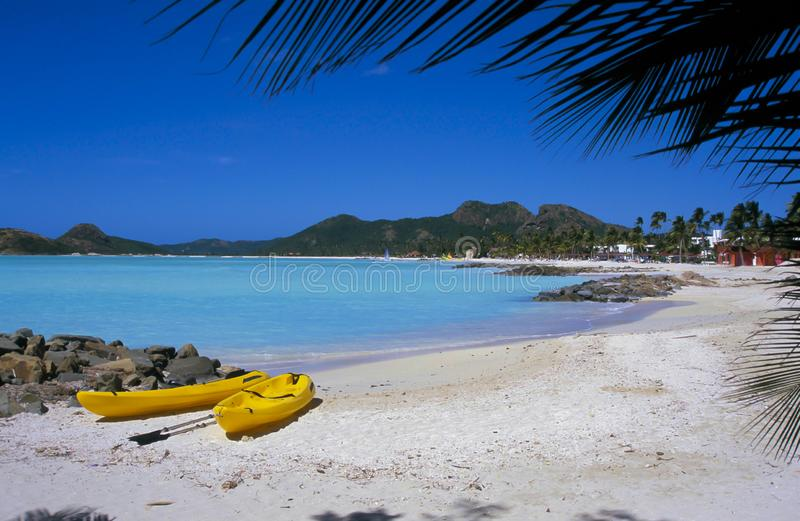 Antigua, karibisch stockfoto