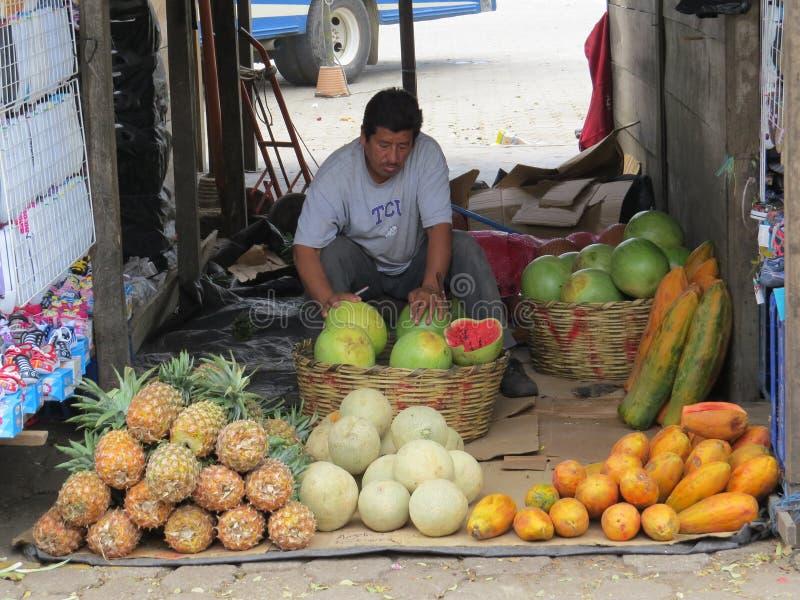 Antigua market stall royalty free stock photos