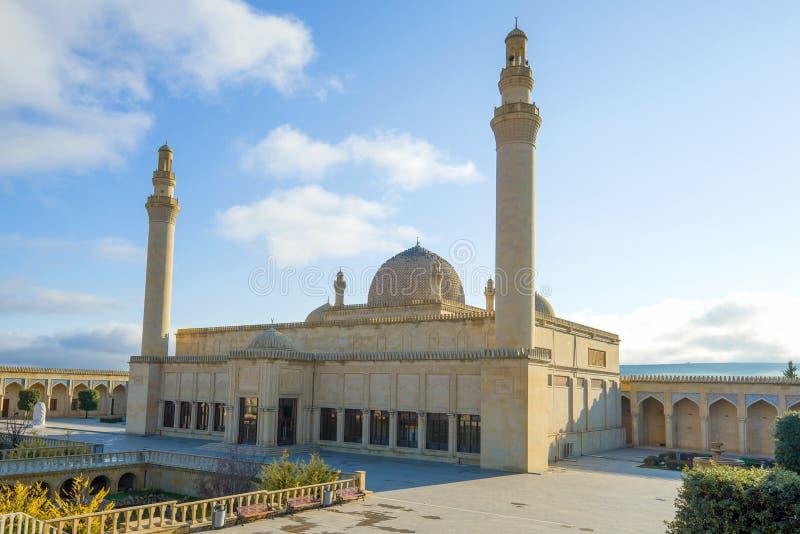 Antigua Mezquita de la Catedral de Juma. Shemakhy (Azerbaiyán) fotografía de archivo libre de regalías
