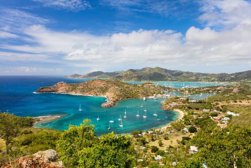Antigualandschap stock afbeelding
