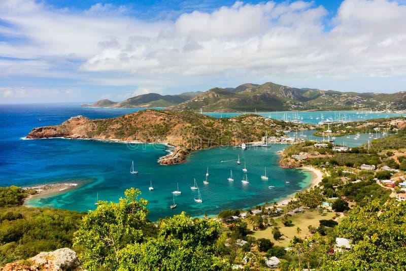 Antigualandschap royalty-vrije stock afbeeldingen