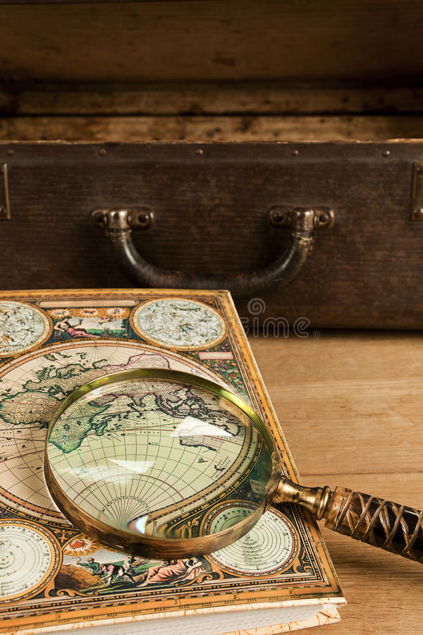 Download Antigue Travelling Objects. Stock Photo - Image: 17013022