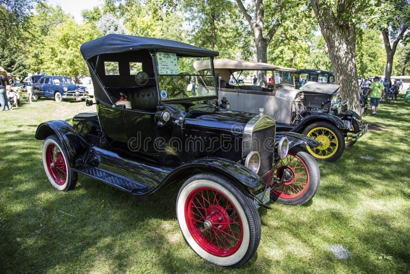 Antiguidade 1925 da barata de Ford Model T foto de stock