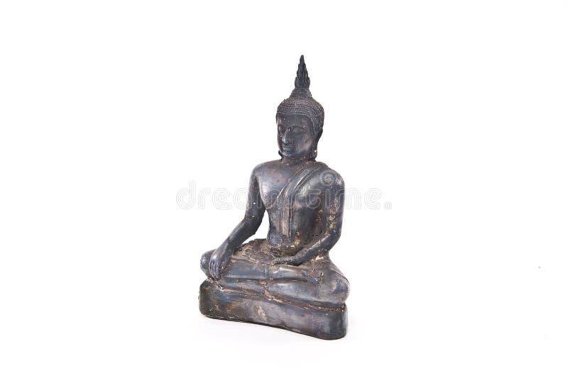A antiguidade da estátua da Buda imagens de stock