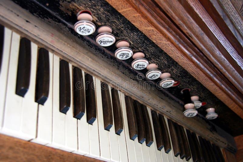 Antiguidade organ02 foto de stock royalty free