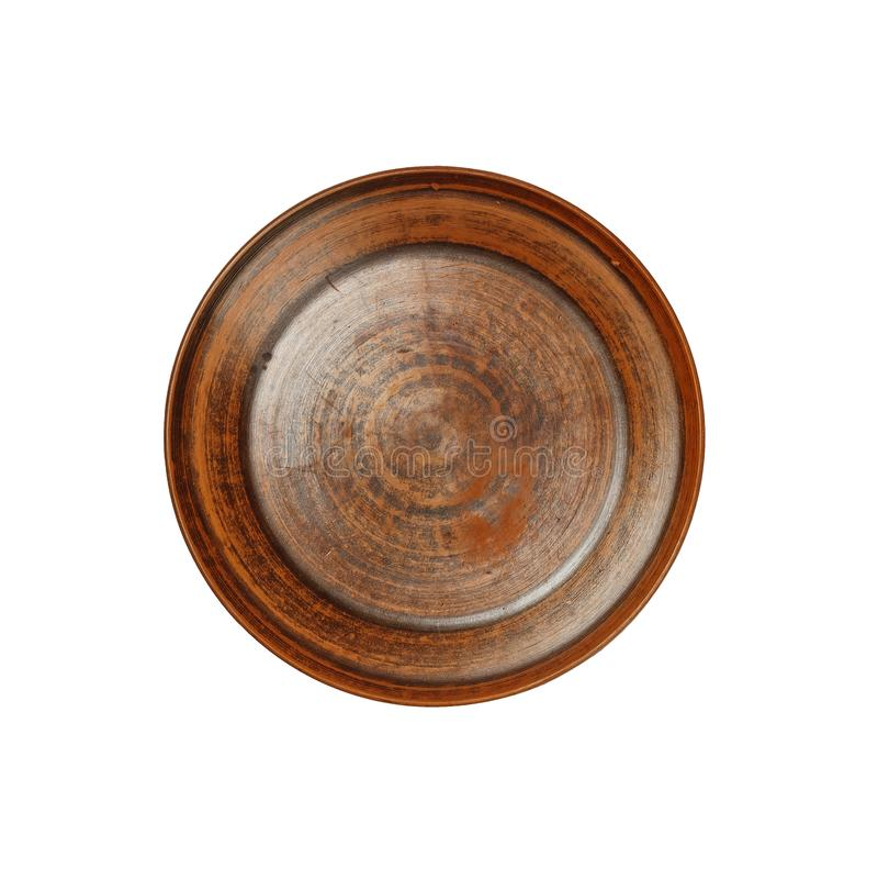 Antiguo, arcilla, plato, antigüedad, de cerámica, placa, cuenco, arcilla, alfarero foto de archivo